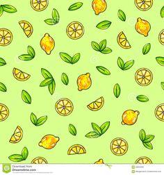 beautiful-animation-lemon-fruits-green-background-lemon-drawing-seamless-pattern-68594060.jpg (1300×1390)