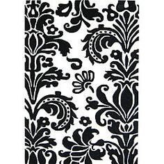 @Overstock - Breathe new life into your home decor with a hand-tufted wool rug  Area rug features a transitional floral pattern  Shades of white and black highlight rug with elegancehttp://www.overstock.com/Home-Garden/Hand-tufted-Floridly-Black-Wool-Rug-5-x-8/4300691/product.html?CID=214117 $162.34