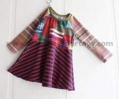 mix it up #courtneycourtney #designer #graphic #dress #girls #eco #upcycled #recycled #repurposed #stripes #funky