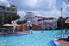 Disney's Boardwalk Pool 3 by dziactor, via Flickr