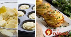 Chrumkavé zemiakové veže so syrom, cesnakom a bylinkami. Pripravte si jedlo, ktoré nielen krásne vyzerá, ale navyše aj úžasne chutí. Jeho príprava je skutočne jednoduchá!