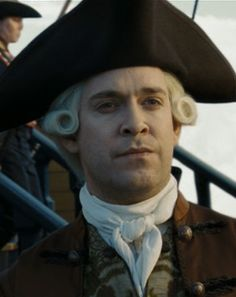 Backstory of Cutler Beckett and Jack Sparrow- Jack was branded as a pirate because he freed a cargo of slaves!!