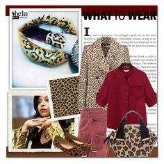 """""""Leopard"""" by aminkicakloko ❤ liked on Polyvore featuring Carven and Wrap"""