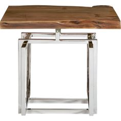 Galaxy End Table in Brown | Pulaski Furniture | Home Gallery Stores