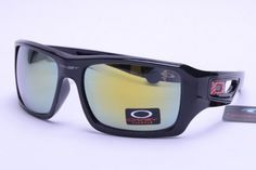68899395489 Oakley Eyepatch Sunglasses Black Frame Yellow Sale