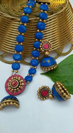 Real terracotta jewelry 2000/-