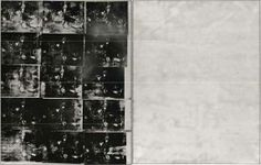 Andy Warhol, Silver Car Crash (Double Disaster) (1963)