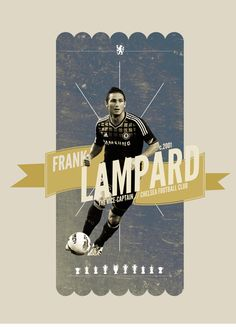 Frank Lampard. Kings of Europe. A continuing series on the icons of Chelsea, by Michael Bantug