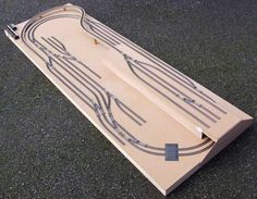 The Goods Yard Model Railways - Recent Projects - the table mounted tack layout