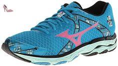Mizuno Wave Connect 3, Chaussures de Running Compétition Homme - Bleu - Blue (Palace Blue/Safety Yellow/Black), 44.5