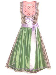Dirndl kariert von ROOSAROTH Modell Heartbreaker   High Fashion Dirndl Germany