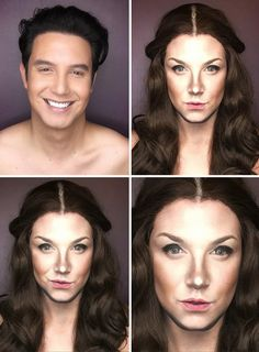 Man Changes Himself Into Any Female Character From Session Of Thrones |