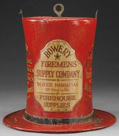 RARE AMERICAN FIREMAN'S TOP HAT TRADE SIGN. - James D. Julia, Inc.