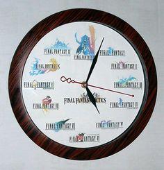 Reloj Final Fantasy: es superfriki, lo quiero YA!