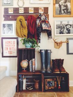 I want to remember to buy thriftstore frames and print B&W photos for my house!