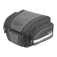 Firstgear Laguna Tail Bag - @RevZilla - comparable or slightly bigger in size than my current HD tail bag. Potential everyday tailbag to replace my HD one. Holds 2,038 to 2,467 cubic inches compared to the 1250 cubic inches of the HD tail bag.