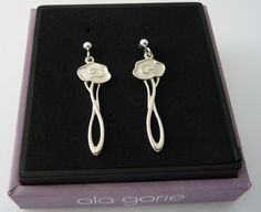 Scottish Ola Gorie Sterling Silver 925 Happy Valley Earrings