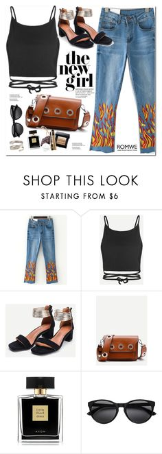 """Romwe"" by oshint ❤ liked on Polyvore featuring Avon, awesome, amazing, cool, romwe and fabulous"