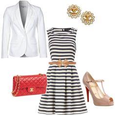 I love me a good nautical outfit!