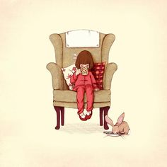 I also got this print for elodie's room as well for her birthday! Belle & Boo illustrations