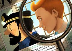 Tintin by lydia-the-hobo on DeviantArt