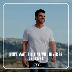 Don't wait. The time will never be just right. Learn from mistakes, yours and others. Do not let mistakes stop risk-taking! Identifying and evaluating risks are an integral part of our life. I do believe we must risk to dream, then risk to plan, and then risk to act. #businesstips #staypositive #buildingmyempire #entrepreneurcoach #successmentor #growthmindset #dreambig #businessmentor #personaldevelopment