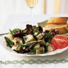Main-Dish Salads Under 300 Calories   Chicken, Red Potato, and Green Bean Salad   MyRecipes.com