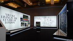 Fabric lightbox system exhibition roadshow Bangkok.