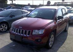 2012 JEEP COMPASS VIN: 1C4NJCEB5CD547616
