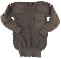 BW Pullover, oliv, neu, original / mehr Infos auf: www.Guntia-Militaria-Shop.de