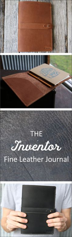 Handcrafted of 100% Full Grain Leather, Free Personalization, Family Owned Business, Made in the USA , Great Customer Service & Great Reviews - This journal makes a treasured gift for any occasion.