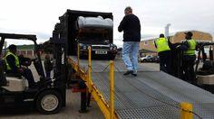 Unloading the Daimler & DBR @astonmartin replica by a ball hair #MyOctane Reality Motoring Show myoctane.tv