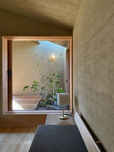 How to Design a Garden Style Living Room Japanese Home Design, Japanese Interior, Japanese House, Contemporary Interior, Japanese Architecture, Interior Architecture, Home Interior Design, Interior And Exterior, Minimal House Design