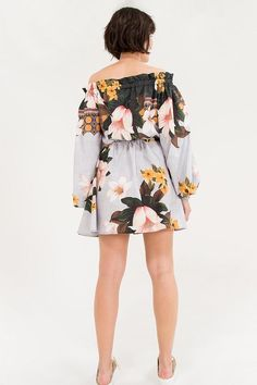 Vestido Flor De Maresia