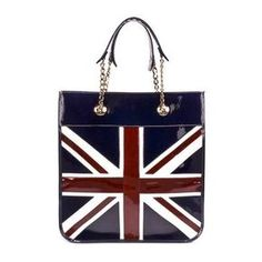 bc4ee73b86c393 ASPINAL OF LONDON:Brit Tote-Go British with this fashionable, trendy tote!