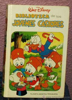 Biblioteca Jóvenes Castores -nº 4- Planeta Agostini - Disney