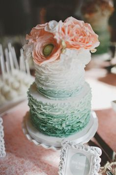 41 Delicate Peach And Mint Wedding Ideas