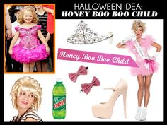 I think i found who i want to be this year!  Honey Boo Boo Child Halloween Costume
