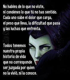 frases maleficas en español - Buscar con Google Boss Bitch Quotes, Karma Quotes, Love Quotes, Disney Princess Quotes, Disney Quotes, Best Positive Quotes, Strong Quotes, Quotes En Espanol, Life Quotes To Live By