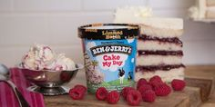 """Ben & Jerry's Introduces New """"Cake My Day"""" Limited Batch Ice Cream 