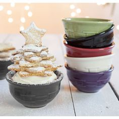 Longaberger woven Traditions Dessert Bowls... I like eggplant and pewter :) bummed they don't have a blue though
