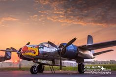 """Fire In the Sky - United States Army Air Forces Douglas A-26B Invader N99420 """"Silver Dragon"""""""
