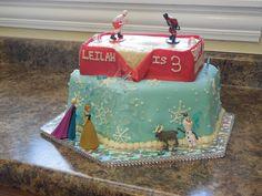 The Frozen Cake and Chicago Blackhawks Cake