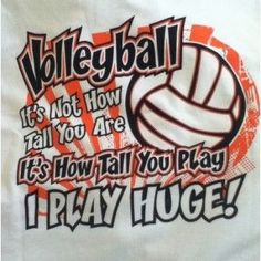 Volleyball quote that I can relate to! Volleyball quote that I can relate to! Volleyball Signs, Volleyball Locker, Funny Volleyball Shirts, Volleyball Posters, Volleyball Workouts, Volleyball Outfits, Volleyball Quotes, Coaching Volleyball, Girls Softball