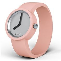 O clock watch - Mirror dial with Powder Pink strap Powder Pink, Face Powder, Trendy Watches, O Bag, Oclock, Online Bags, Luxury Watches, Pretty In Pink, Bracelets