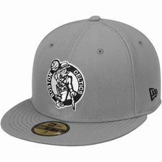 Boston Celtics New Era 59FIFTY Fitted Hat – Gray/Black - $34.99