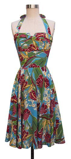 Trashy Diva Trixie Dress | 1950's Inspired Dress | Hawaiian Charm