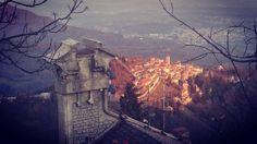 Il Sacro Monte e gli incredibili colori della tavolozza del paesaggio