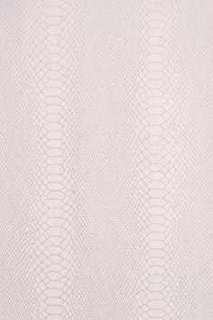 Snake skin wallpaper... hmmm... filing cabinet? night stand?