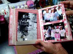 Envelope mini album (Kathy Orta)